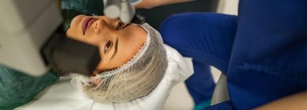 Augen Laser Therapie