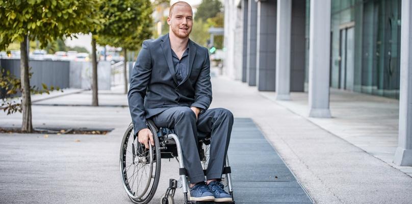 Mode für Rollstuhlfahrer