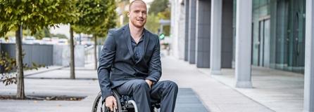 Mode Rollstuhlfahrer